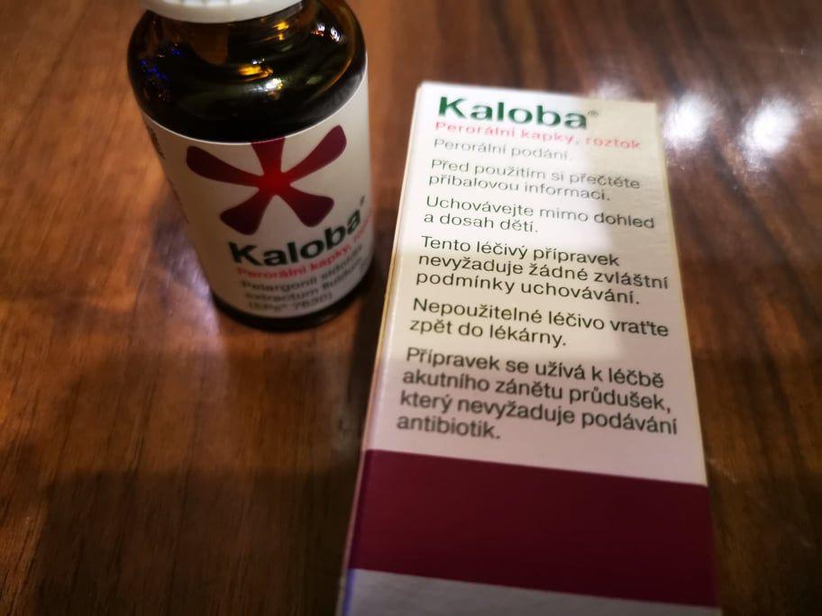 Kaloba se používá kléčbě akutního zánětu průdušek, který nevyžaduje antibiotika